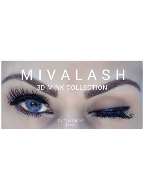 "Mivalash ""London"" 3D Luxury Mink Lashes"