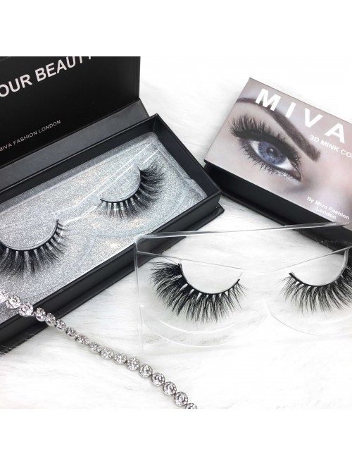 "Mivalash ""DayDreamer"" 3D Luxury Mink Lashes"